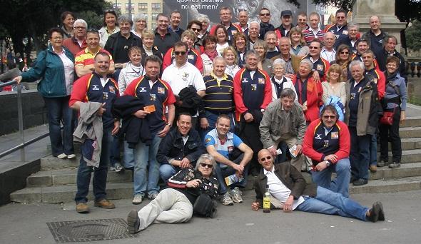 Die Alten Herren des TSV feiern zusammen