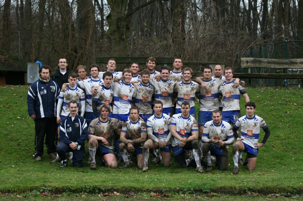 Die siegreiche Mannschaft beim ASV Köln