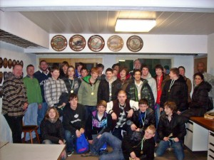 U16-Winterfeier beim Kirchheimer Schützenverein