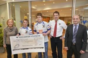 Volksbank Heidelberg unterstützt die Junglöwen