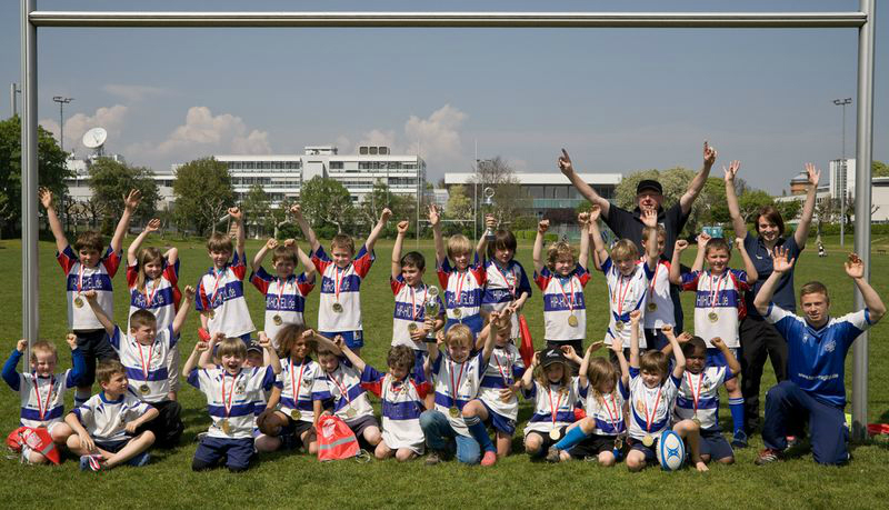 U8 und U10 beim Frankfurter Jugend-Rugby-Festival