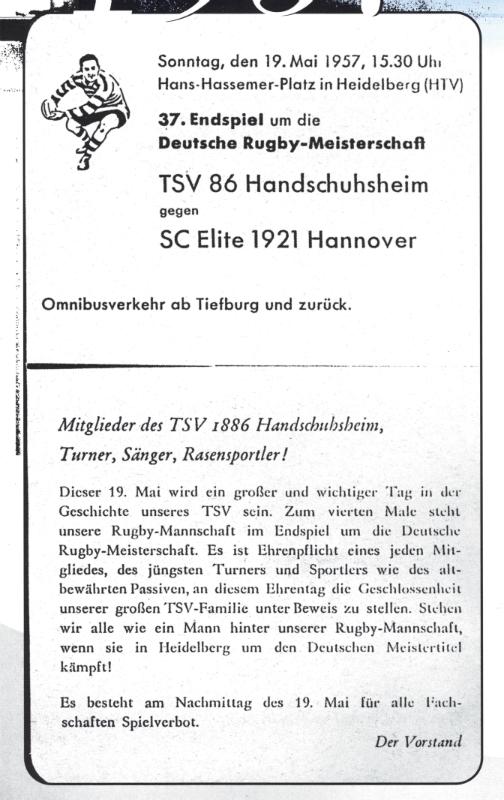 Plakat Finale 1957