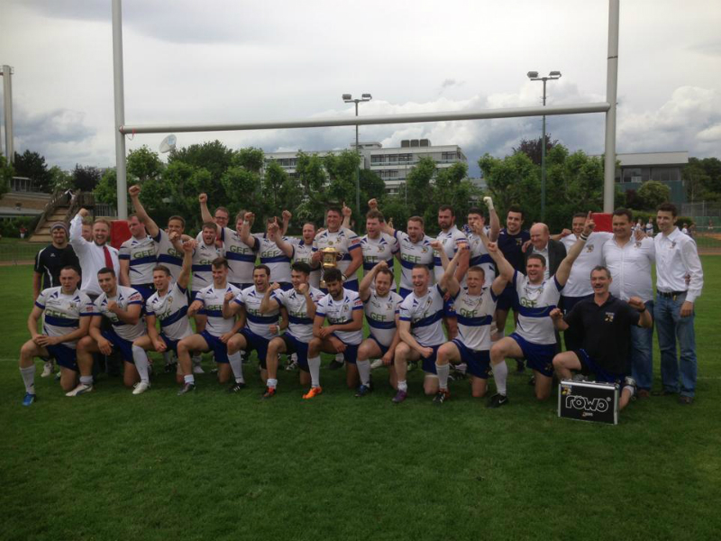 Der TSV gewinnt den DRV-Pokal 2013