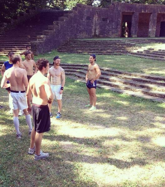 Kleine Pause zwischen den Trainingseinheiten