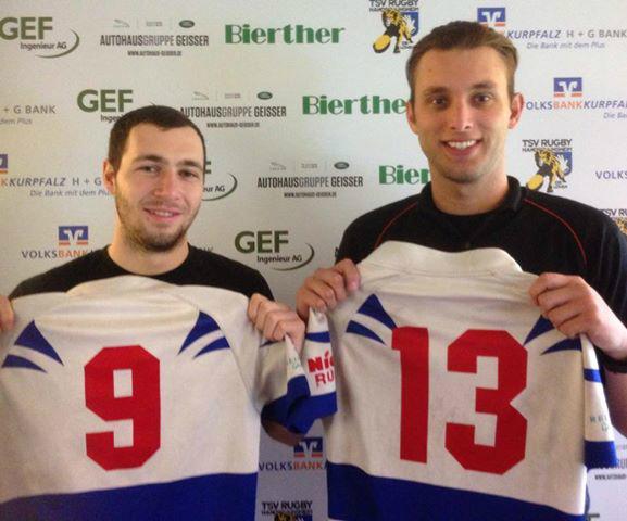Michael Cooke und Mitchel Stevens geben am Wochenende ihr Debut für die Löwen
