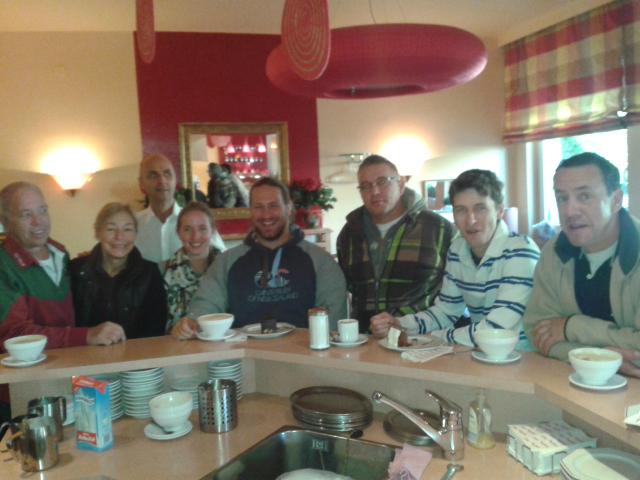 Rugbystammtisch im Café Tiefburg