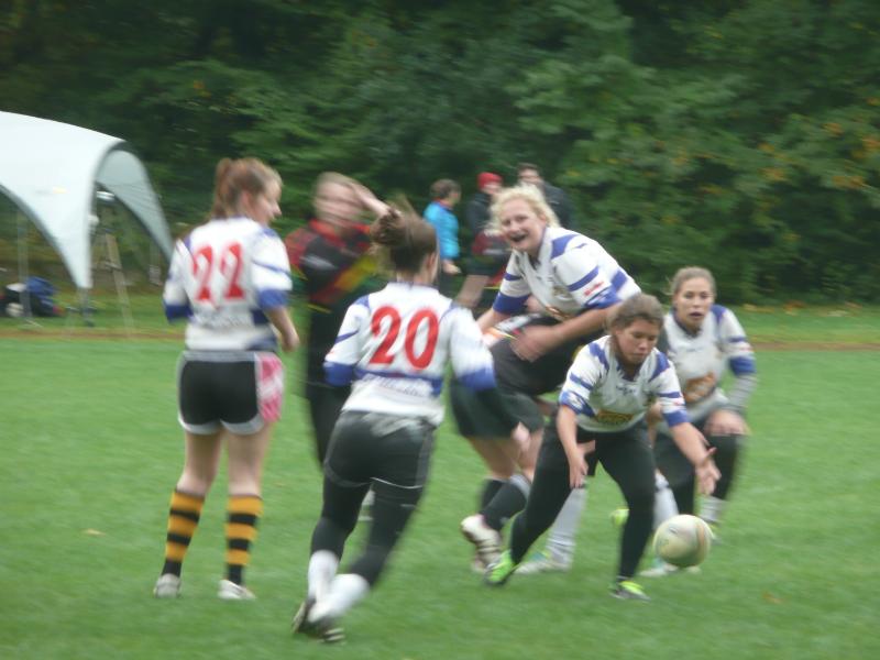 Die Frauenmannschaft bei ihrem Turnier in Nürnberg