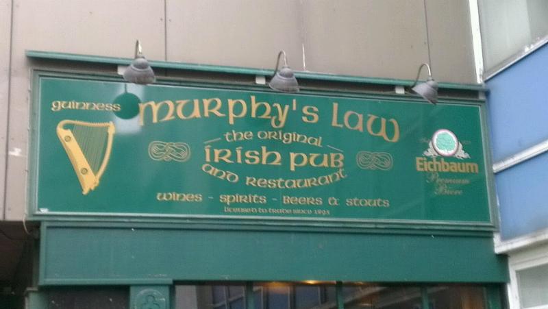 Rugby im Murphy's Law in Mannheim