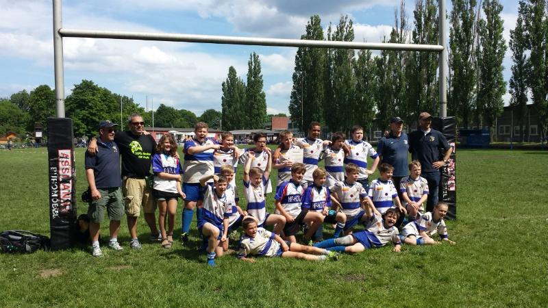Die TSV-Meistermannschaft der U12