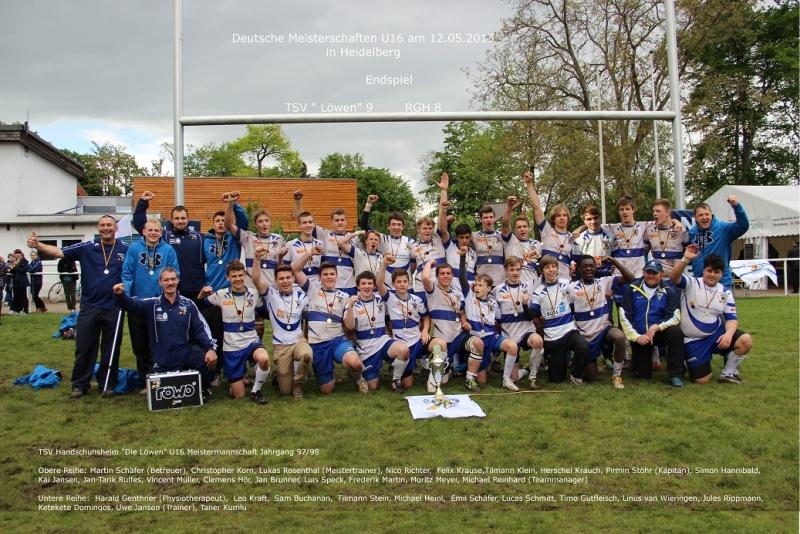 U16-Meistermannschaft 2013 / 2014