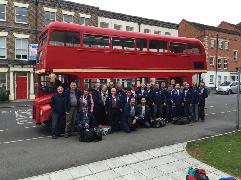 AH beim EVRA-Turnier in Farnham / England