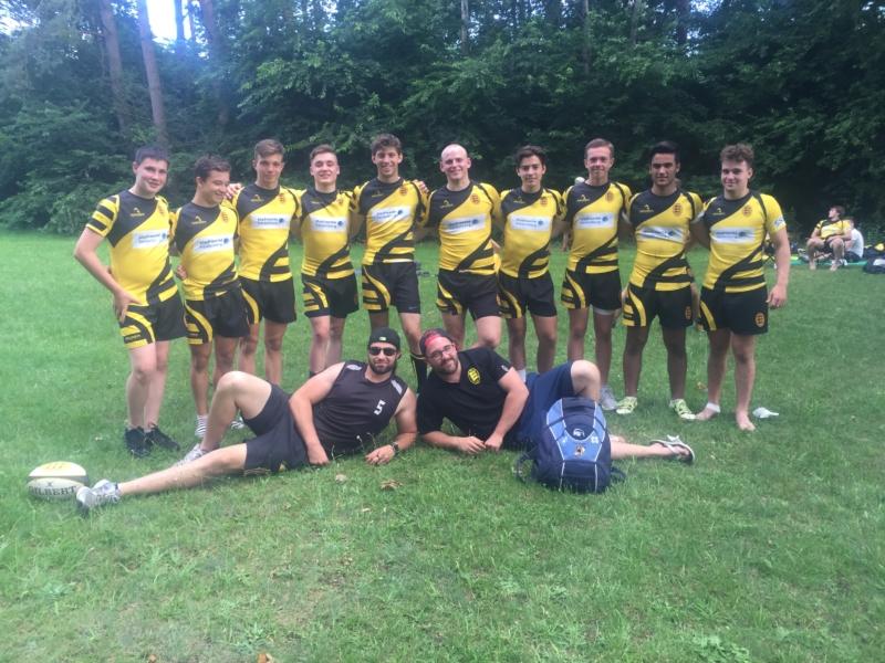 U16/18-Junglöwen erfolgreich mit der RBW-7s-Auswahl