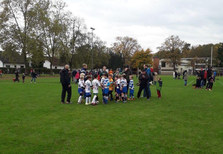 Gastspiel der U10 in Hessen