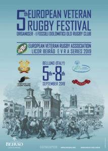 5. European Rugby Veteran Festival September 2019