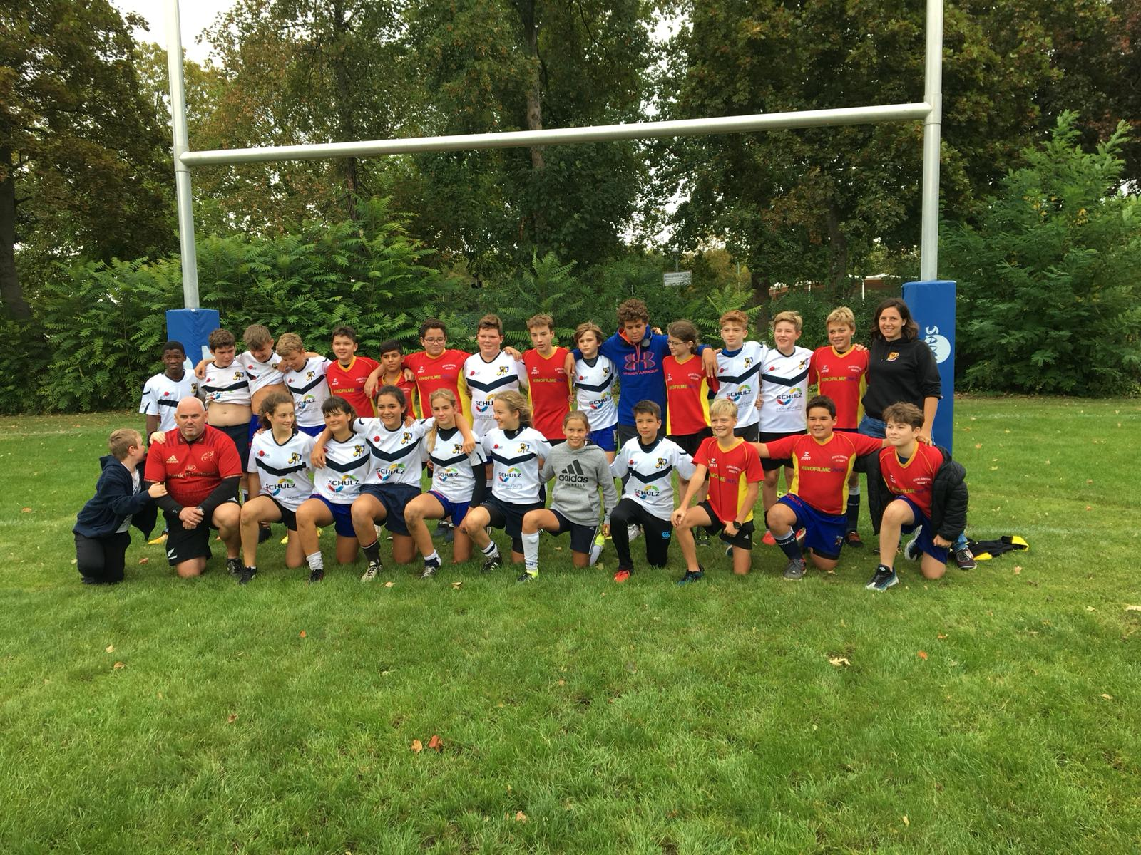 "Review U14-Junglöwen 1. ""Heidelberg Try""-Turnier"
