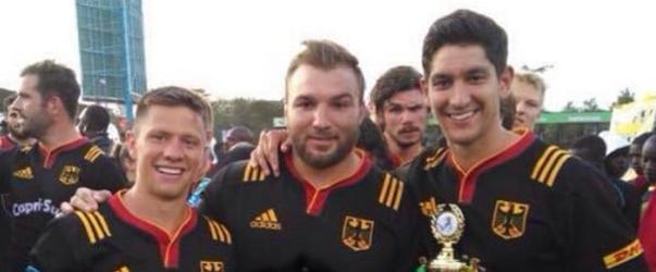 Tim Menzel (von links nach rechts), Julius Nostadt und Chris Hilsenbeck entstammen alle der Talentschmiede des TSV Handschuhsheim. Foto: Privat.