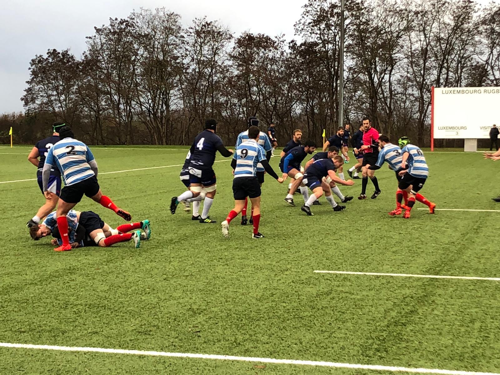 Spielbericht RC Luxemburg vs. TSV Handschuhsheim