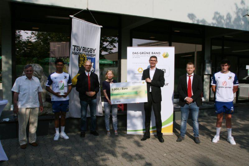 Grünes Band an die TSV-Jugend überreicht