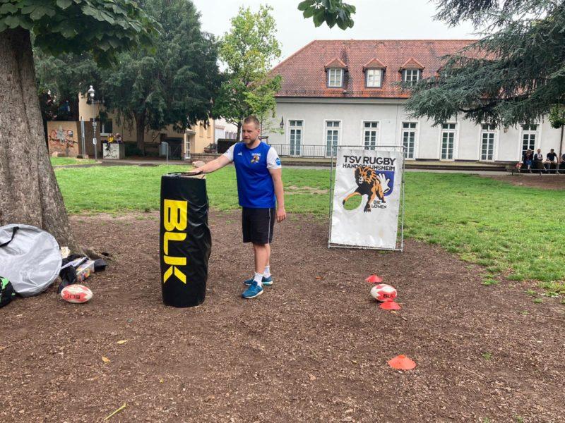 Sport im Grahampark immer samstags vormittags