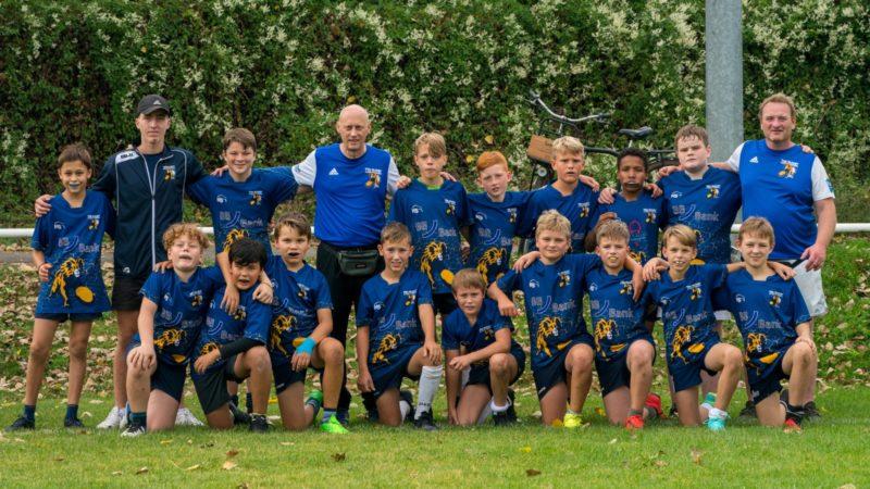 Endlich wieder Rugby – U12 in bester Spiellaune